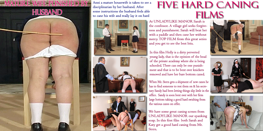 Unladylike Manor the caning scenes